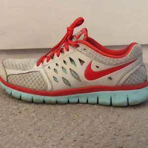Nike running sneakers.